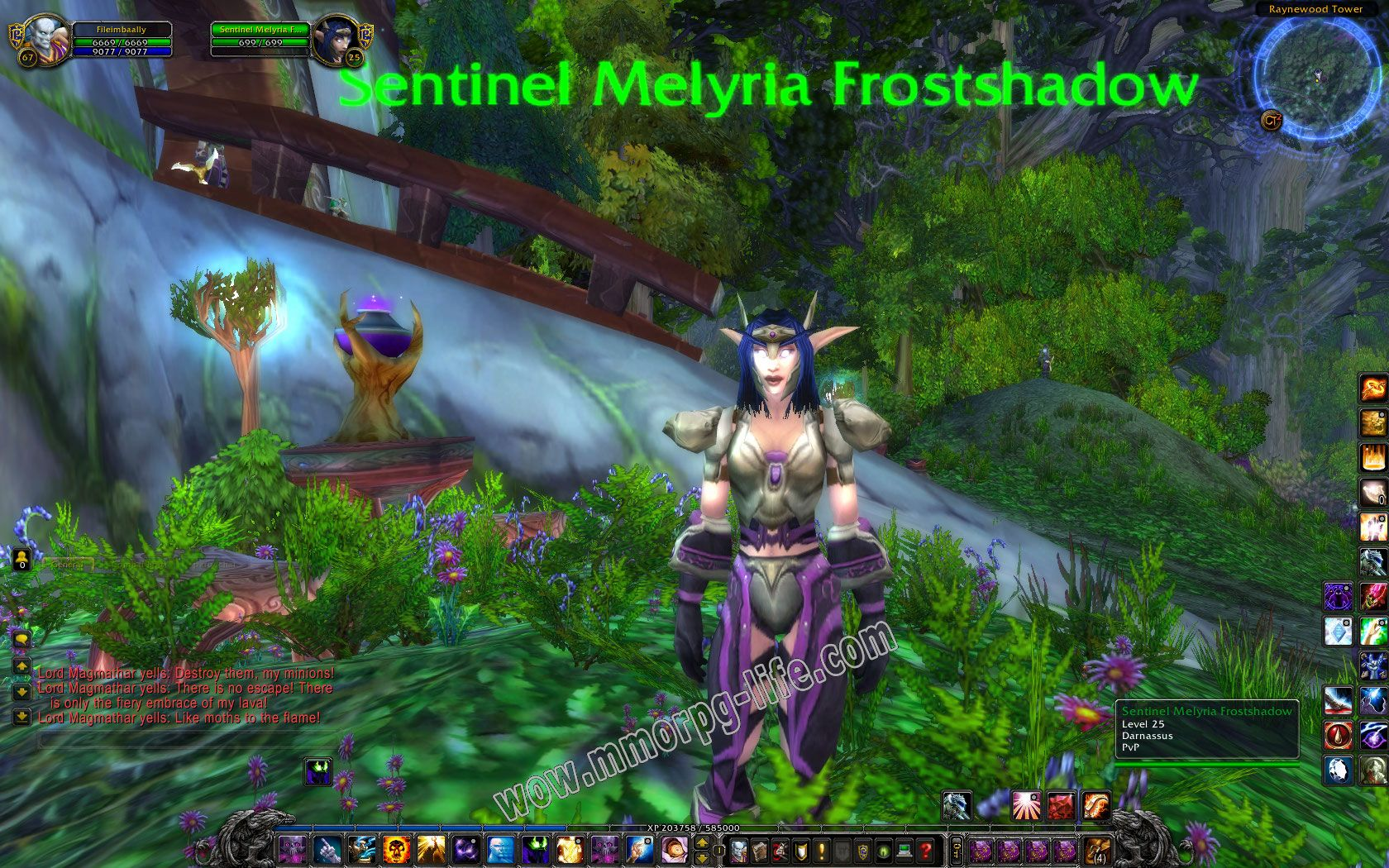 NPC: Sentinel Melyria Frostshadow image 2 middle size