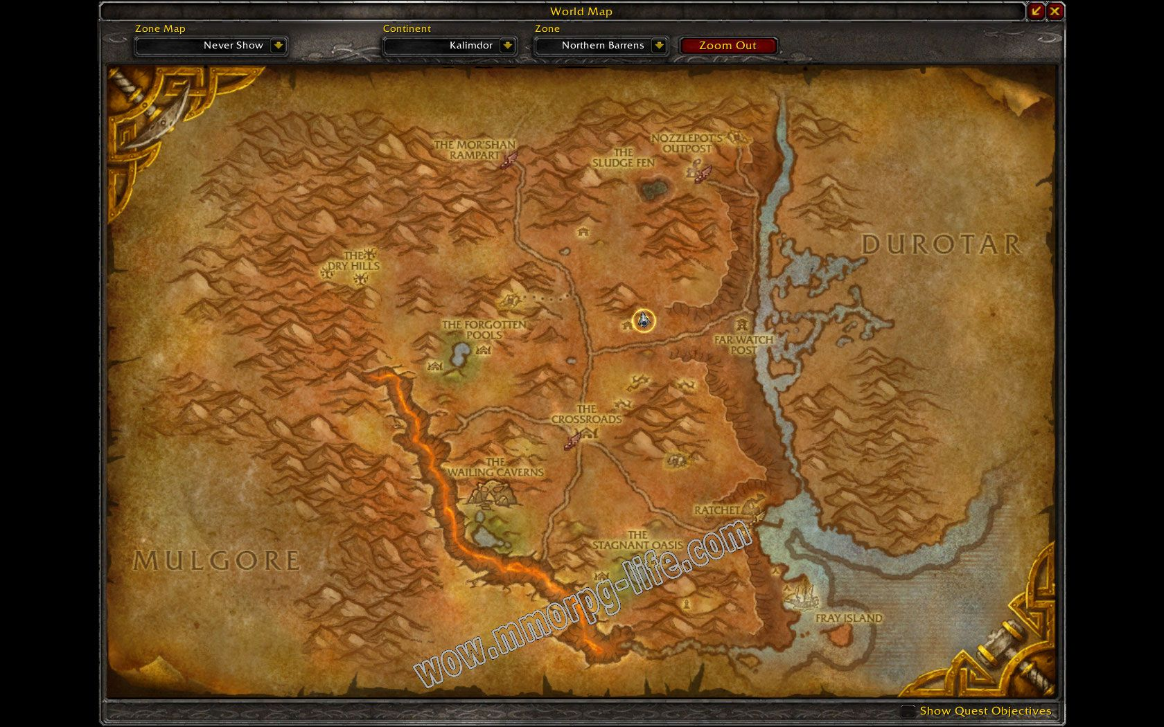 wow how to get to to vindicar