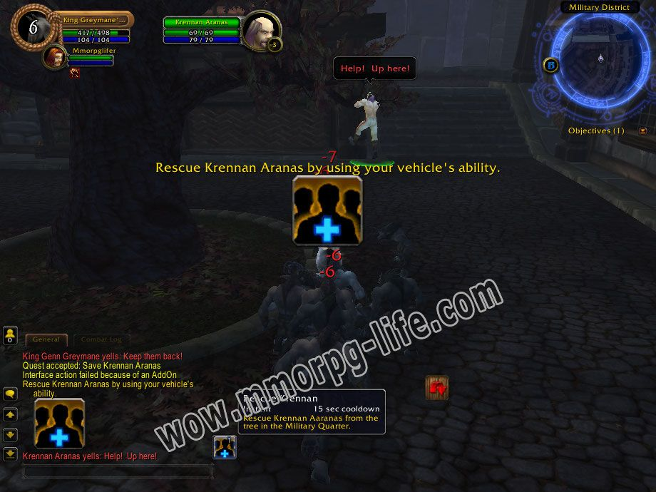Quest: Save Krennan Aranas, objective 1, step 1 image 946 middle size