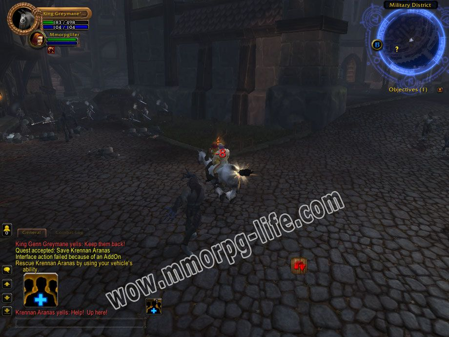 Quest: Save Krennan Aranas, objective 1, step 1 image 947 middle size