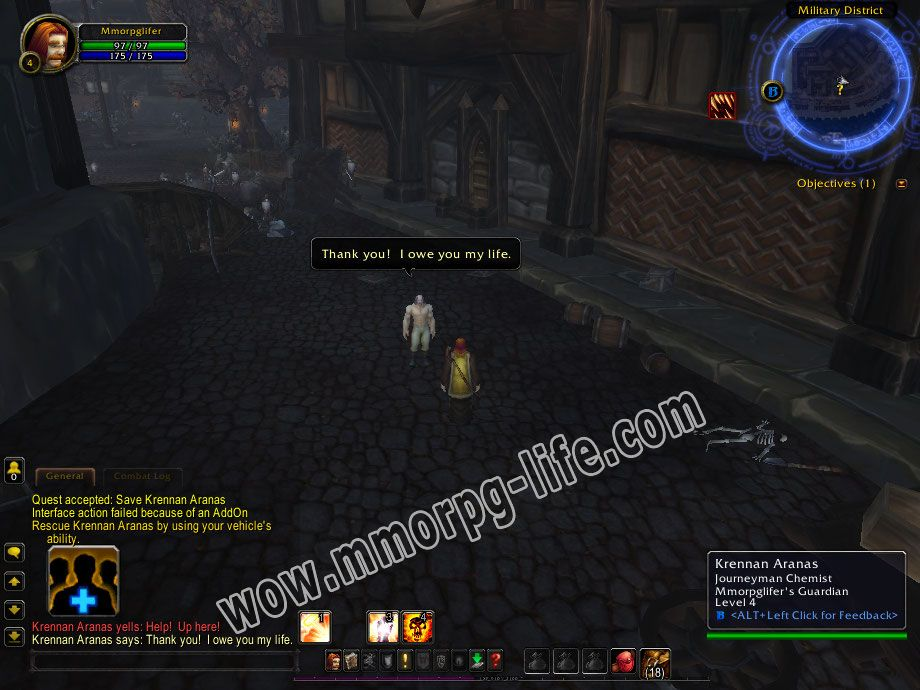 Quest: Save Krennan Aranas, objective 1, step 1 image 945 middle size