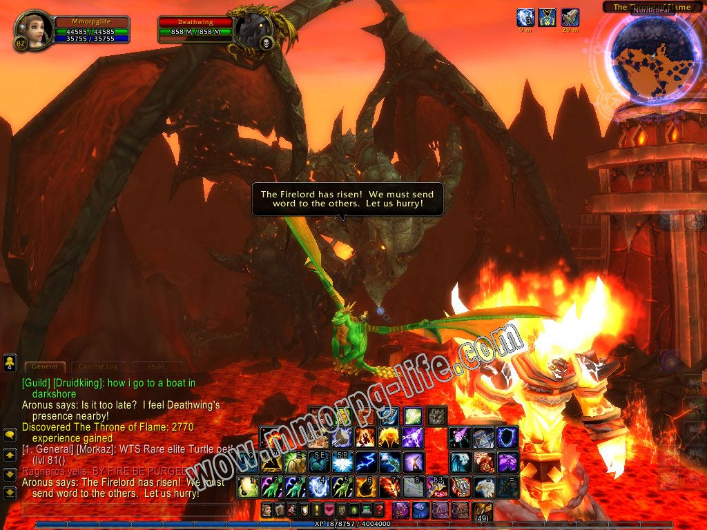Quest: As Hyjal Burns, objective 1 image 4461 middle size