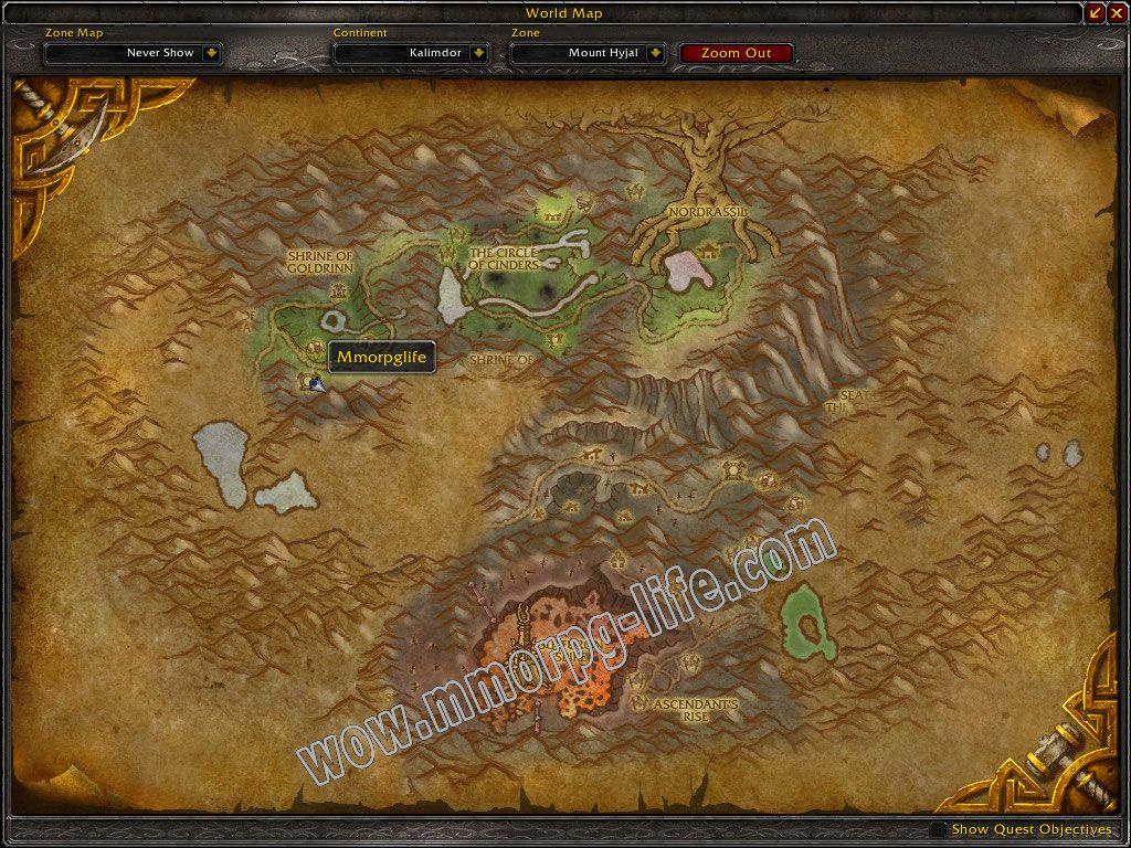 Quest: Rage of the Wolf Ancient, objective 1, step 1 image 4673 middle size