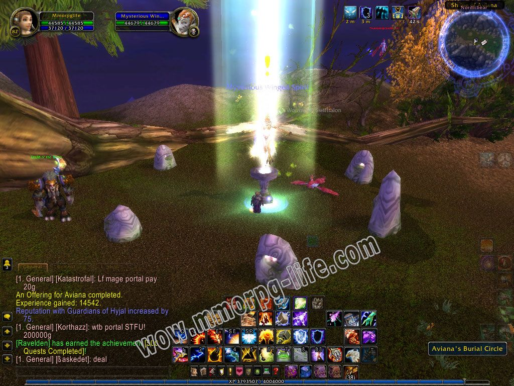 NPC: Mysterious Winged Spirit image 1 middle size