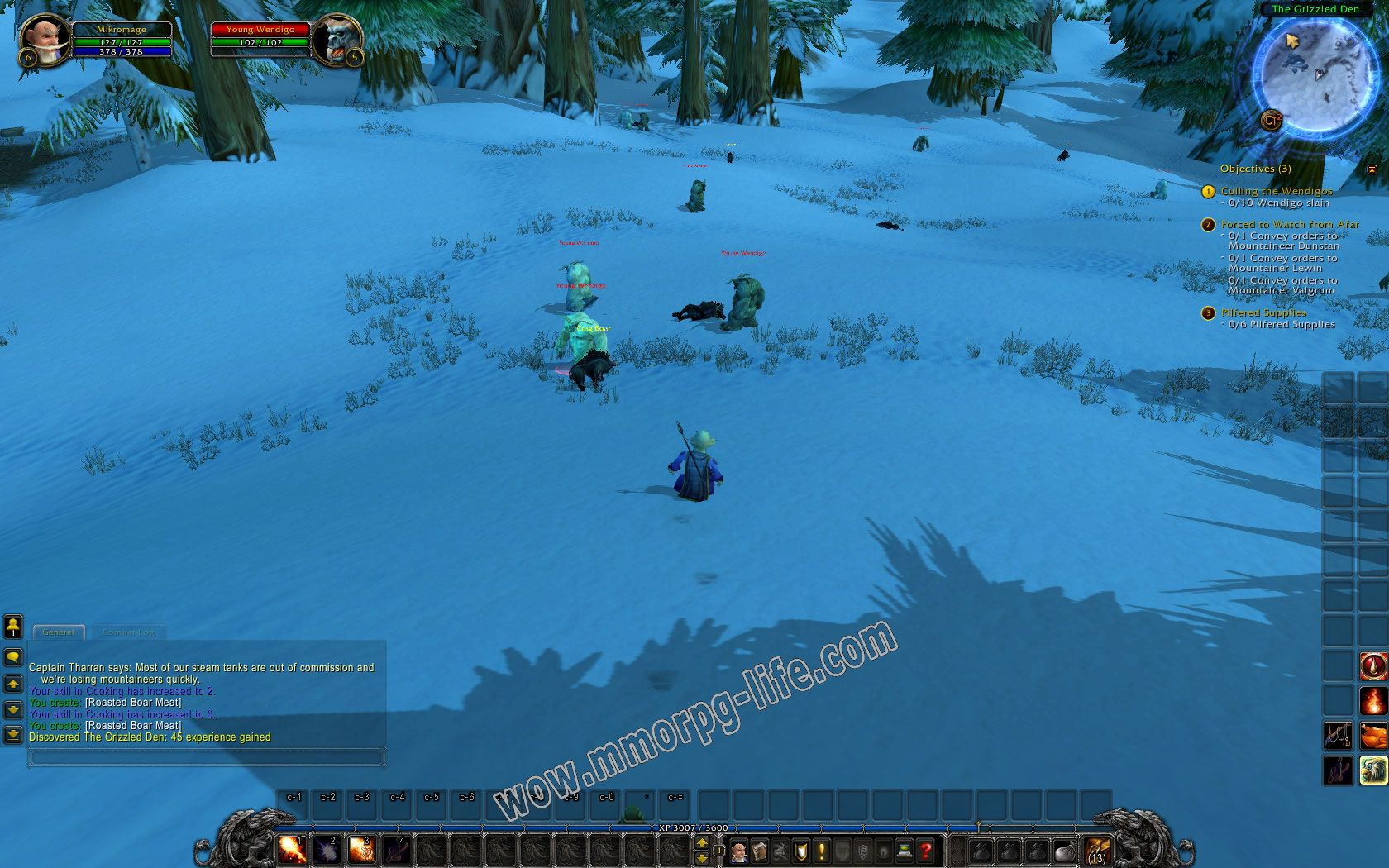 Quest: Culling the Wendigos, objective 1, step 1 image 2235 middle size