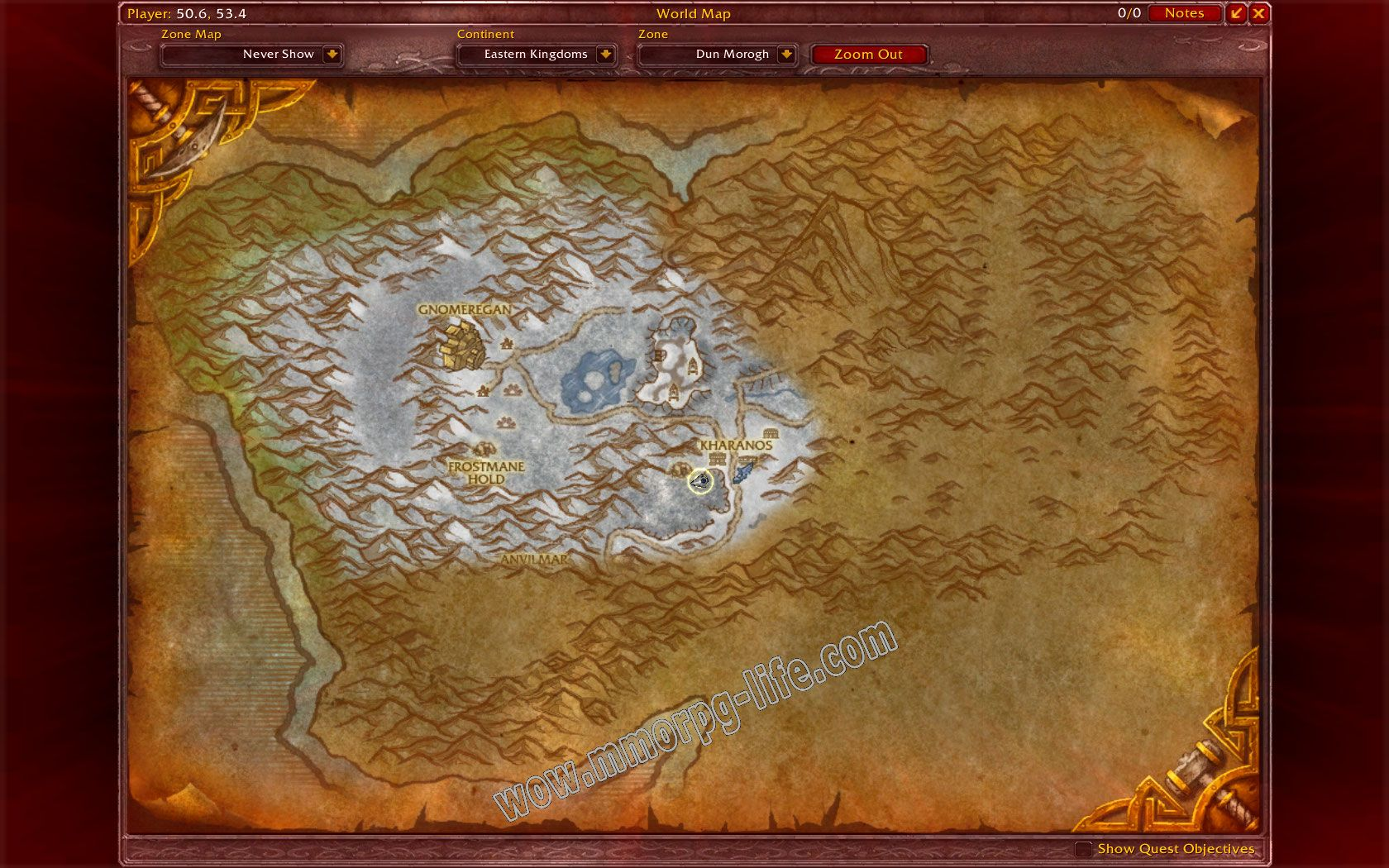Quest: Culling the Wendigos, objective 1, step 1 image 2236 middle size