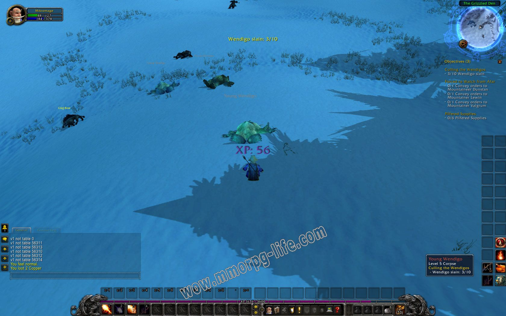 Quest: Culling the Wendigos, objective 1, step 1 image 2237 middle size