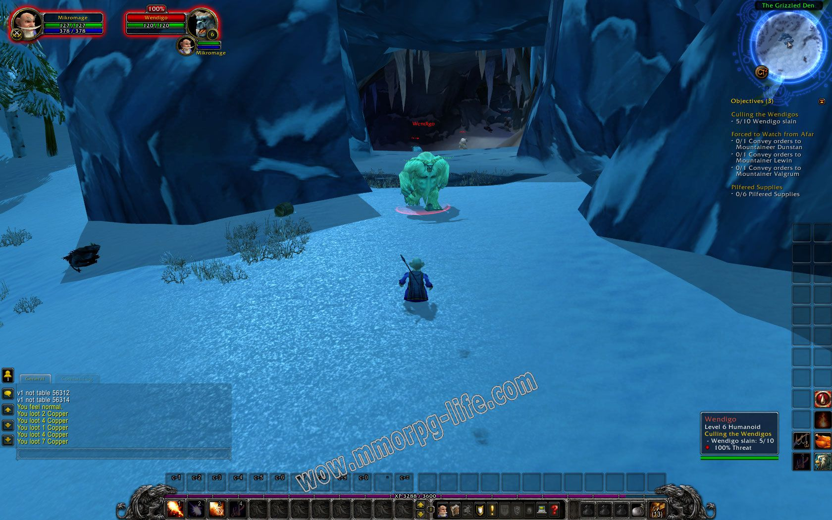 Quest: Culling the Wendigos, objective 1, step 1 image 2238 middle size