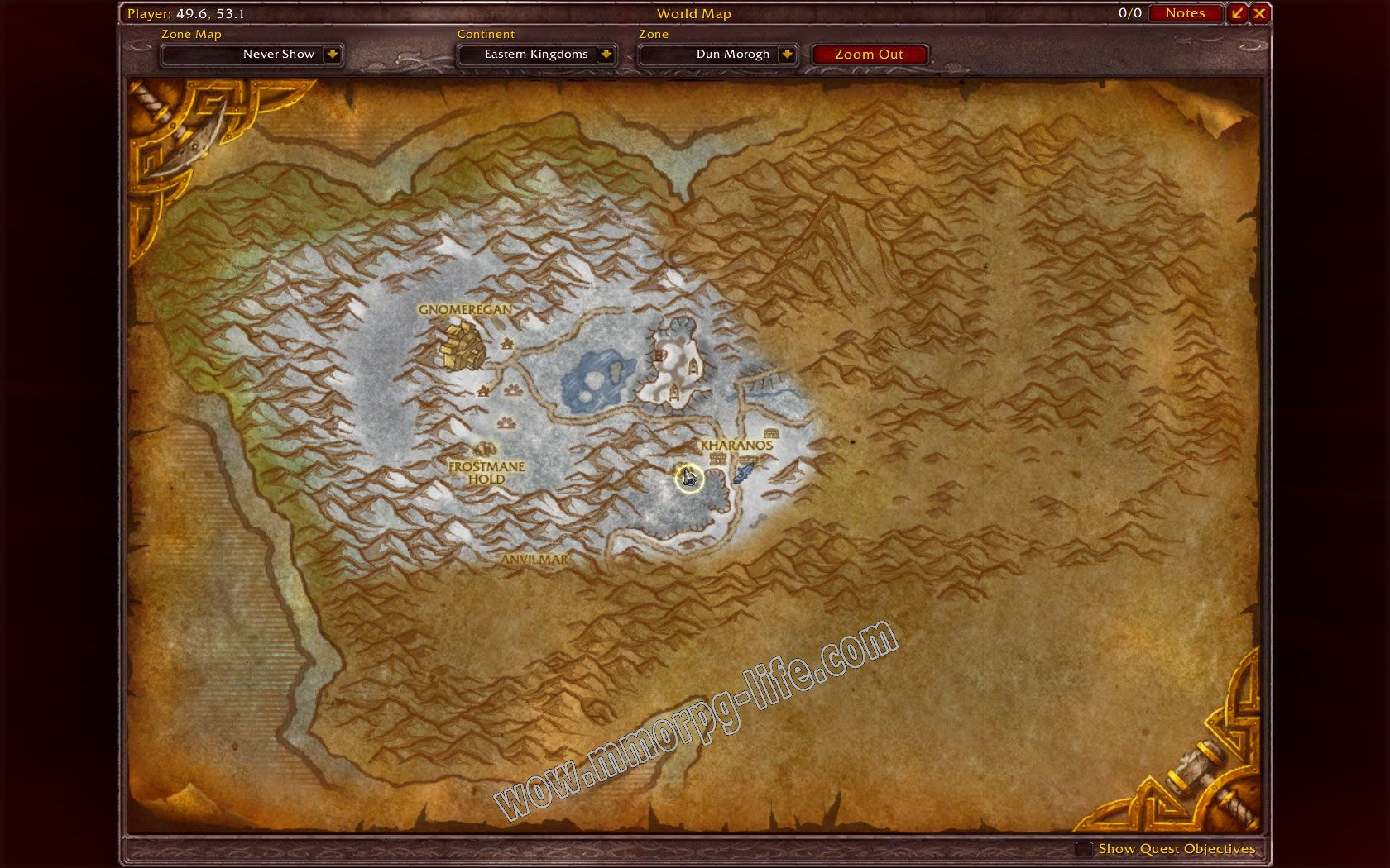 Quest: Culling the Wendigos, objective 1, step 1 image 2239 middle size