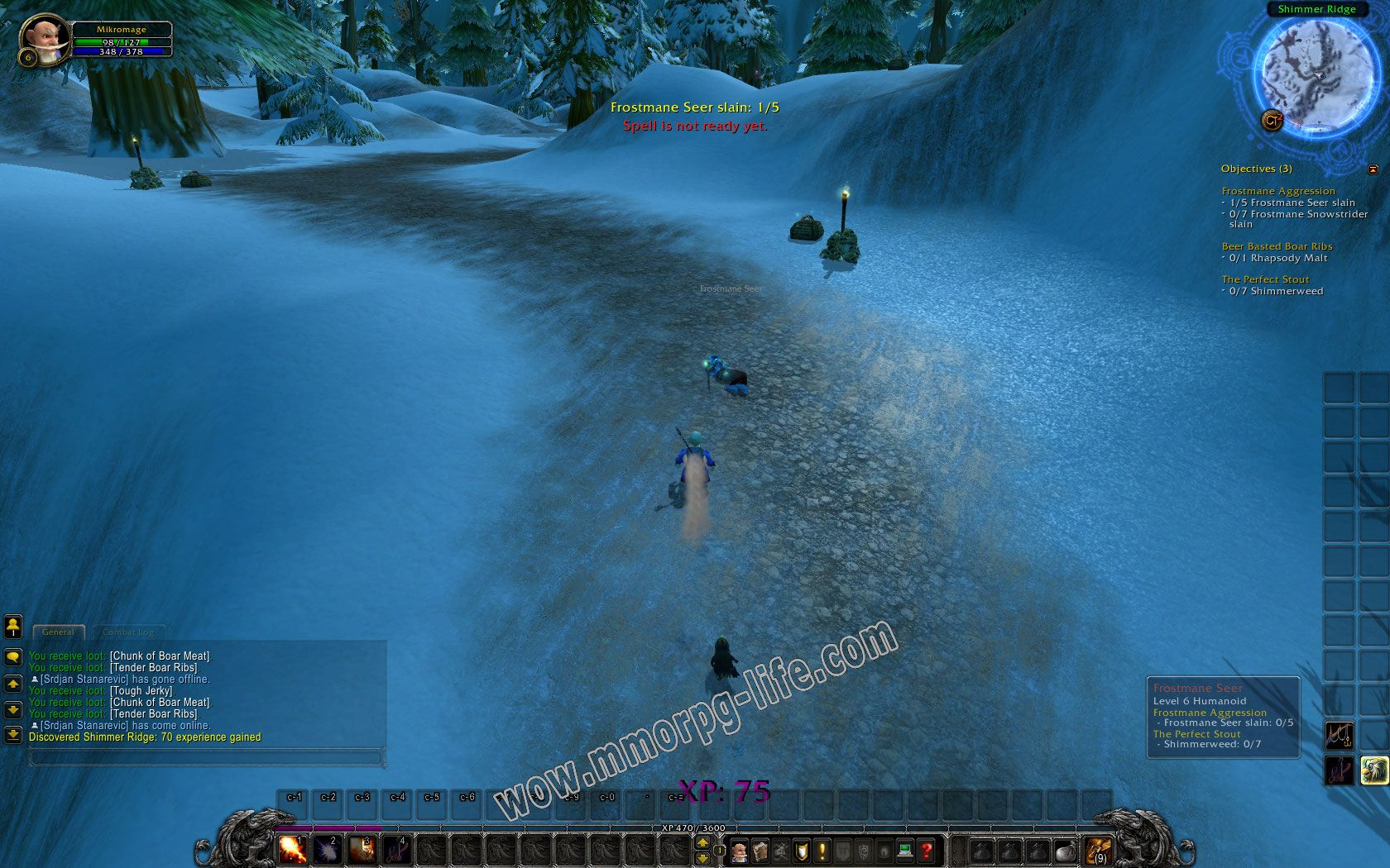 Quest: Frostmane Aggression, objective 1, step 1 image 2218 middle size
