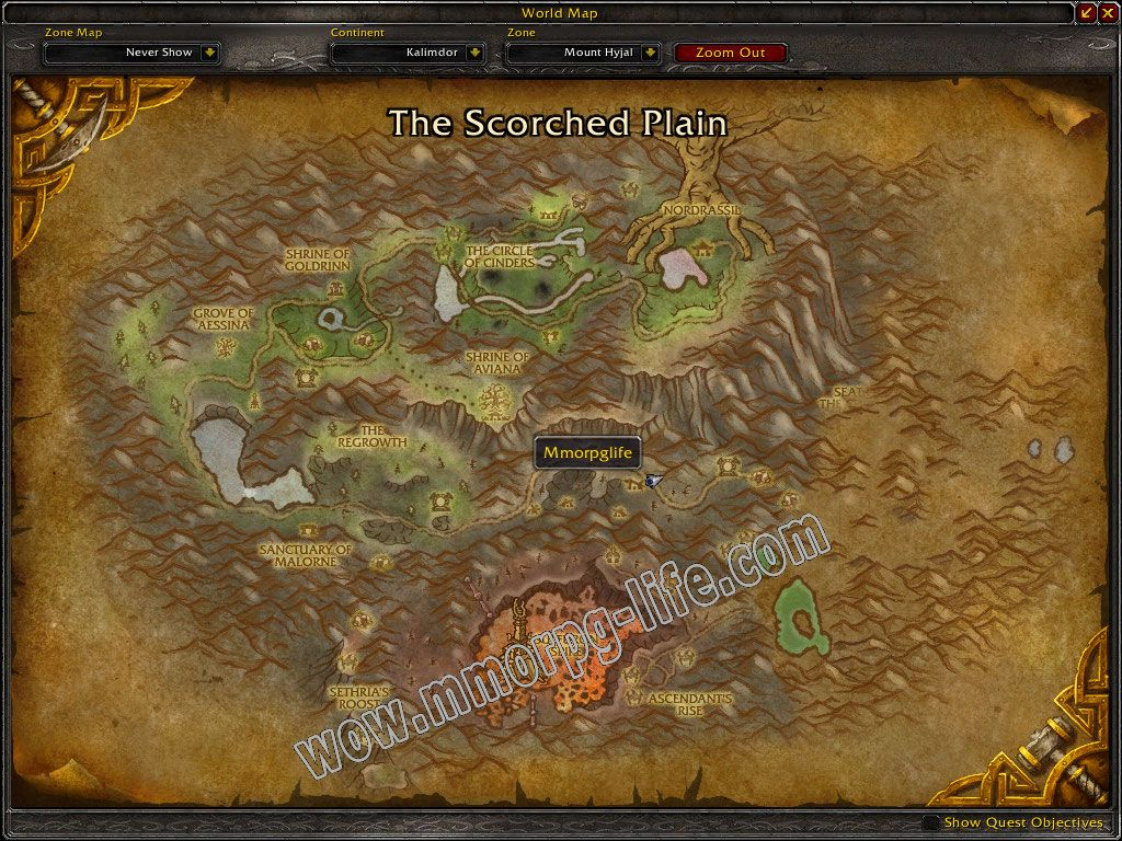 Quest: Hyjal Recycling Program, objective 1, step 1 image 5058 middle size