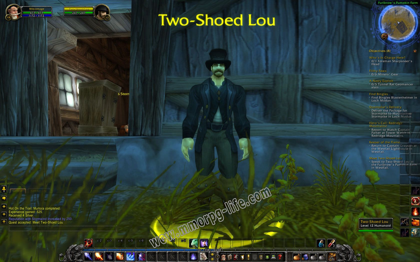 NPC: Two-Shoed Lou image 2 middle size
