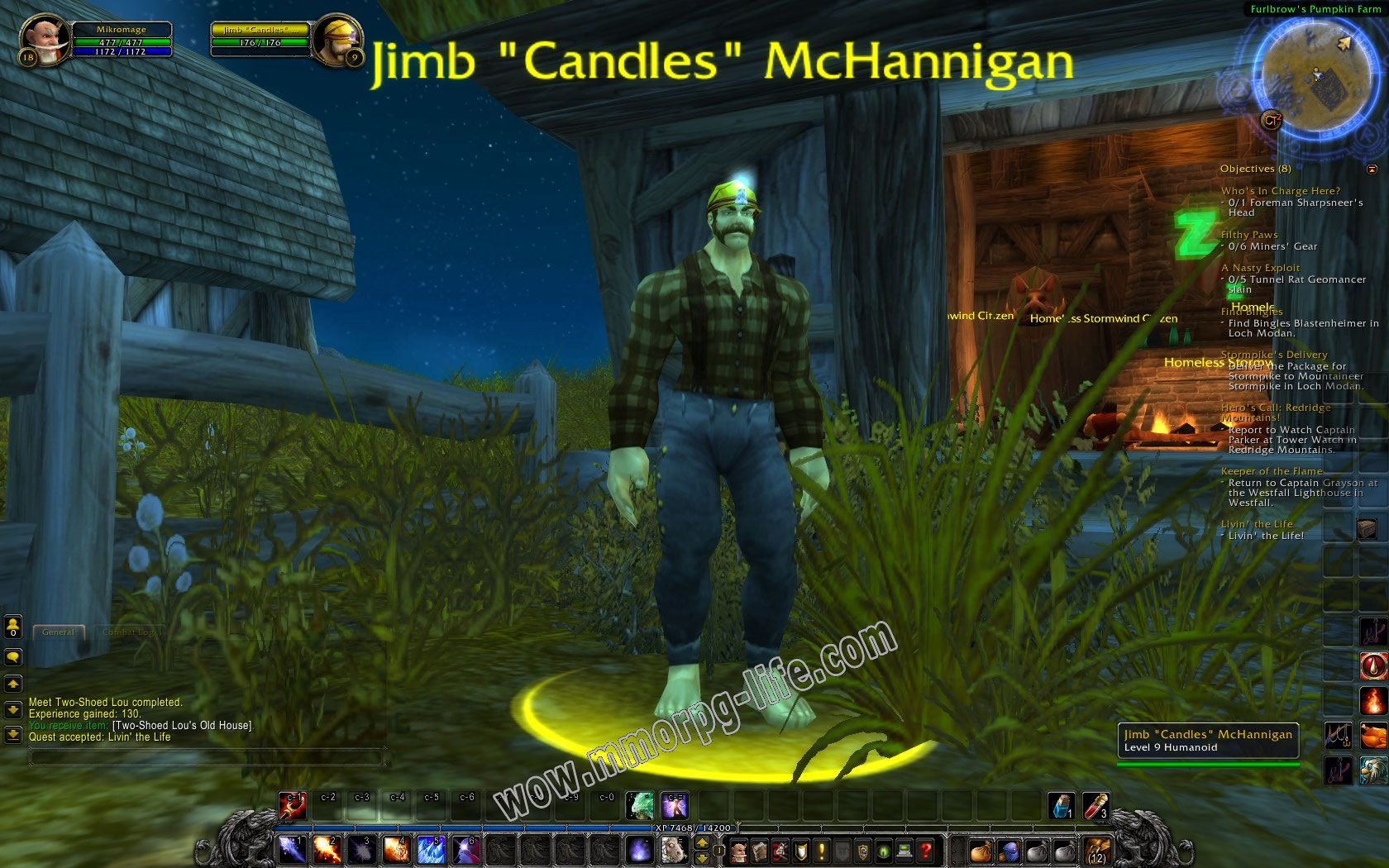 "NPC: Jimb ""Candles"" McHannigan image 2 middle size"