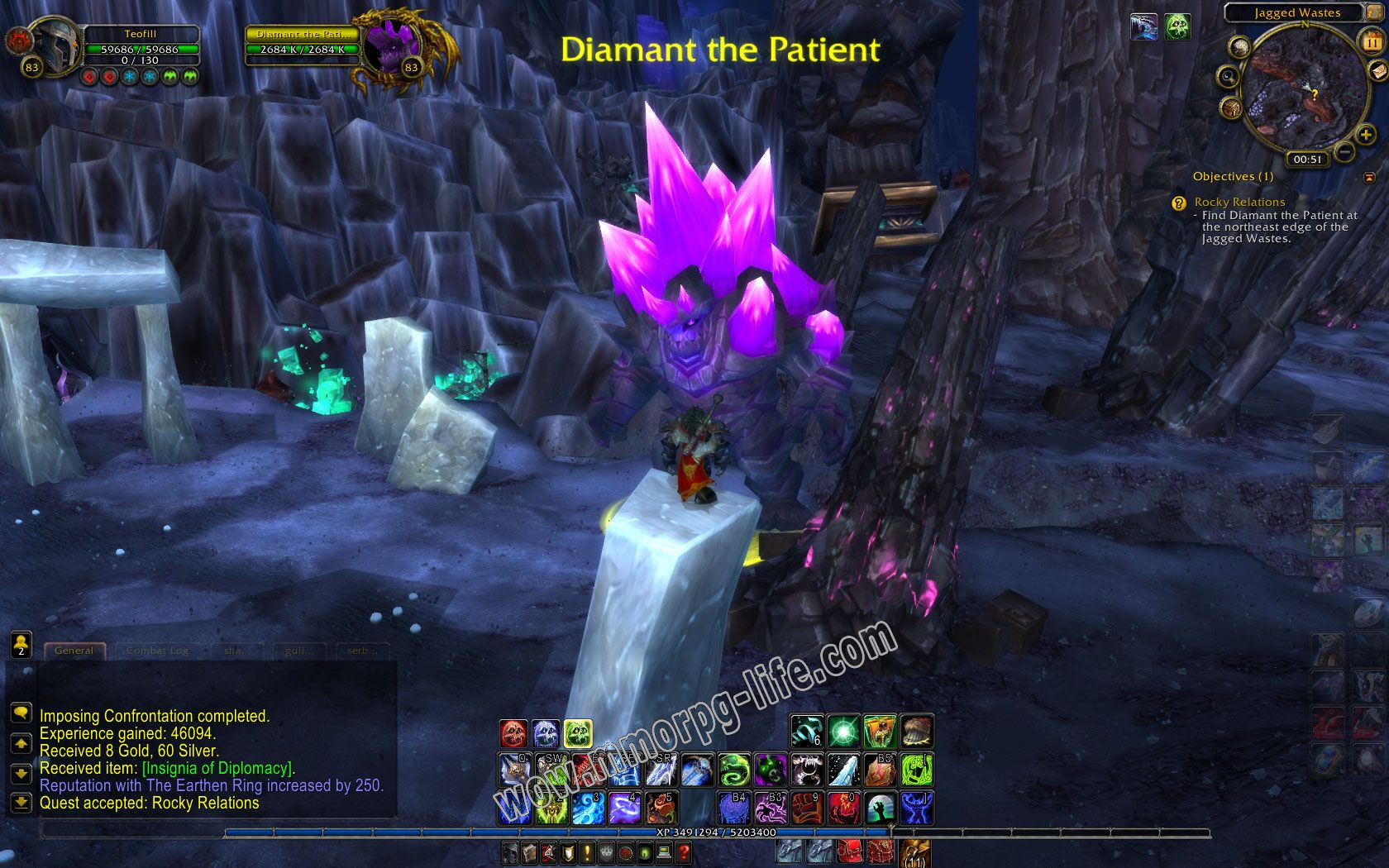 NPC: Diamant the Patient image 1 middle size