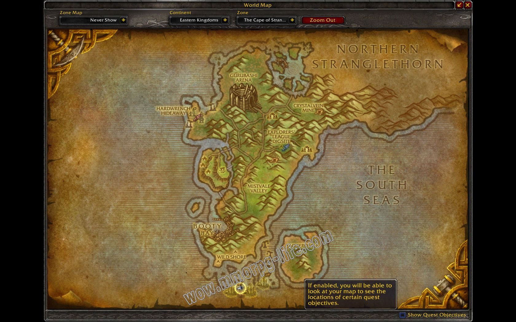 Quest: Your First Day as a Pirate, objective 1 image 1835 middle size