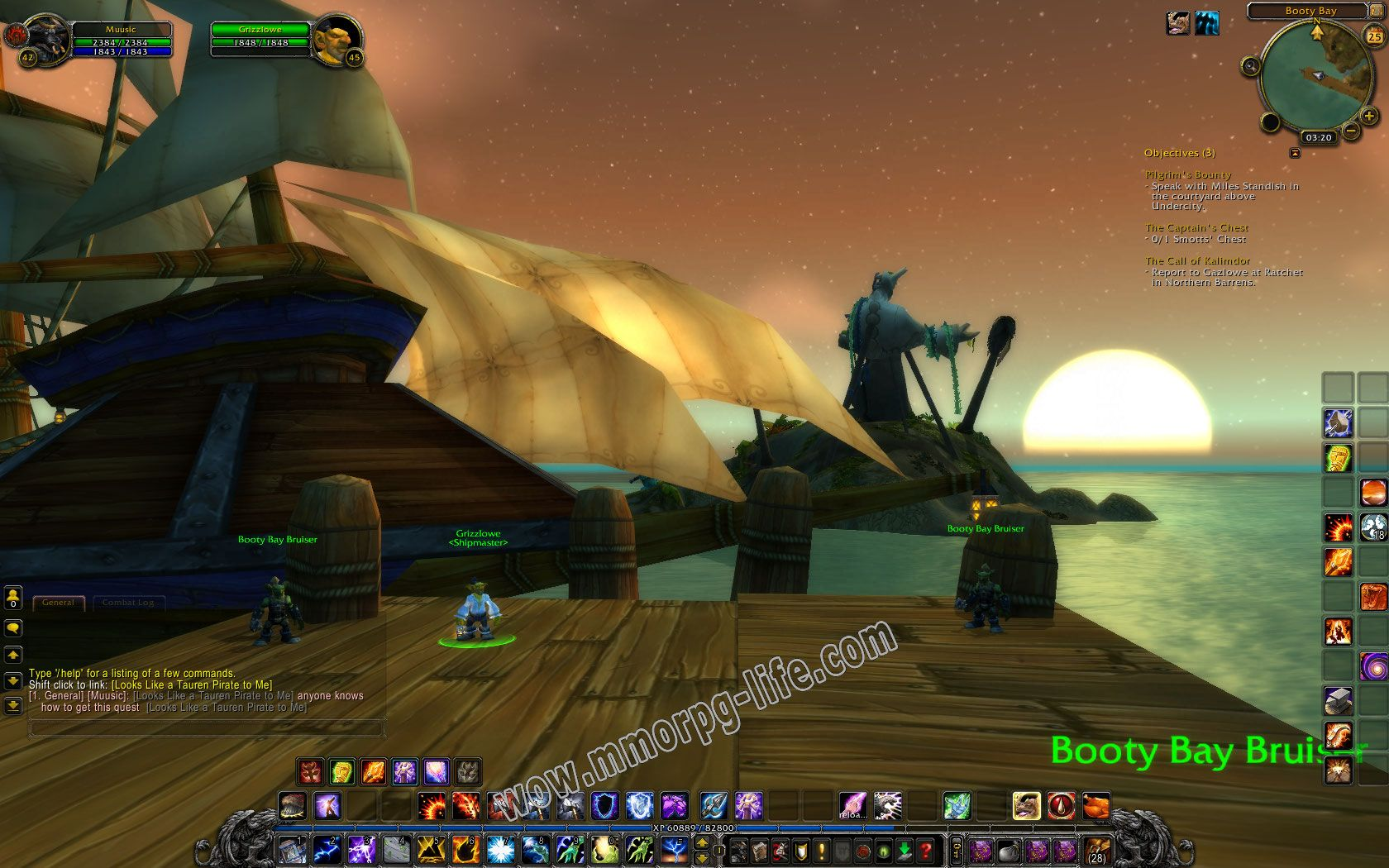 Quest: The Call of Kalimdor, objective 1 image 1224 middle size