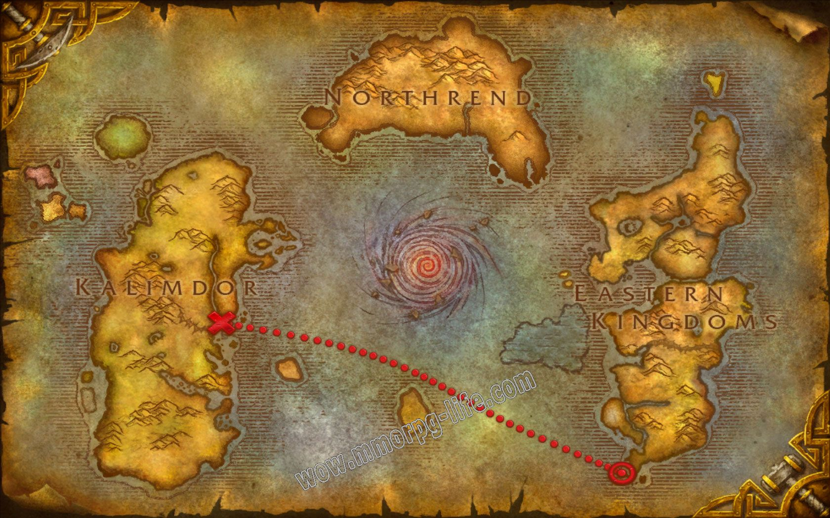 Quest: The Call of Kalimdor, objective 1 image 1227 middle size