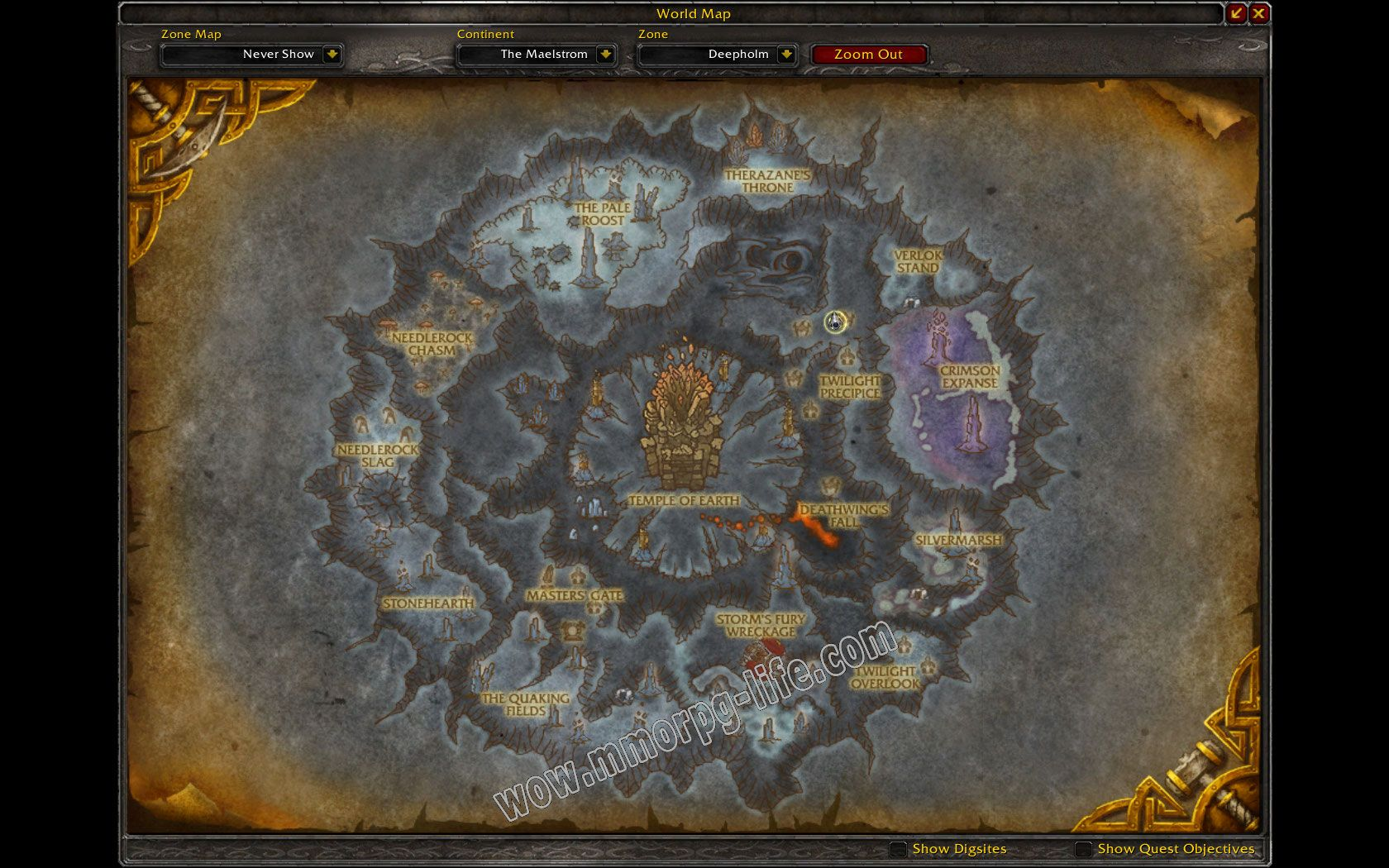 Quest: Therazane's Mercy, objective 1, step 2 image 4266 middle size