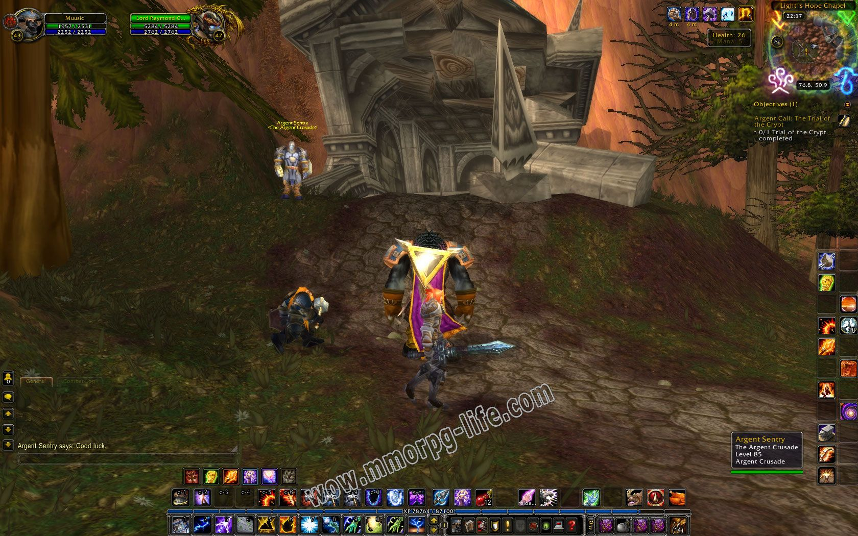 Quest: Argent Call: The Trial of the Crypt, objective 1 image 1691 middle size