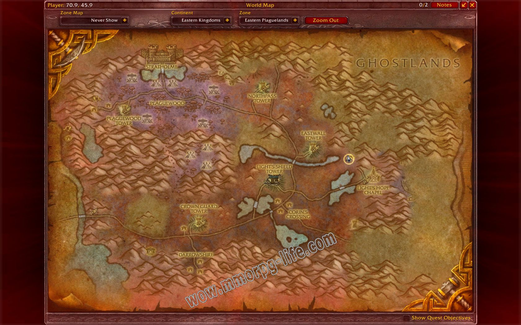 Quest: Argent Call: The Noxious Glade, objective 1, step 1 image 1846 middle size