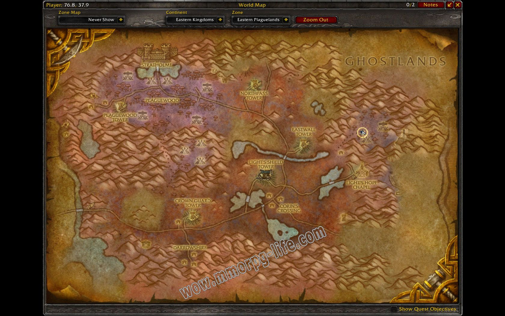 Quest: Argent Call: The Noxious Glade, objective 1, step 2 image 1849 middle size