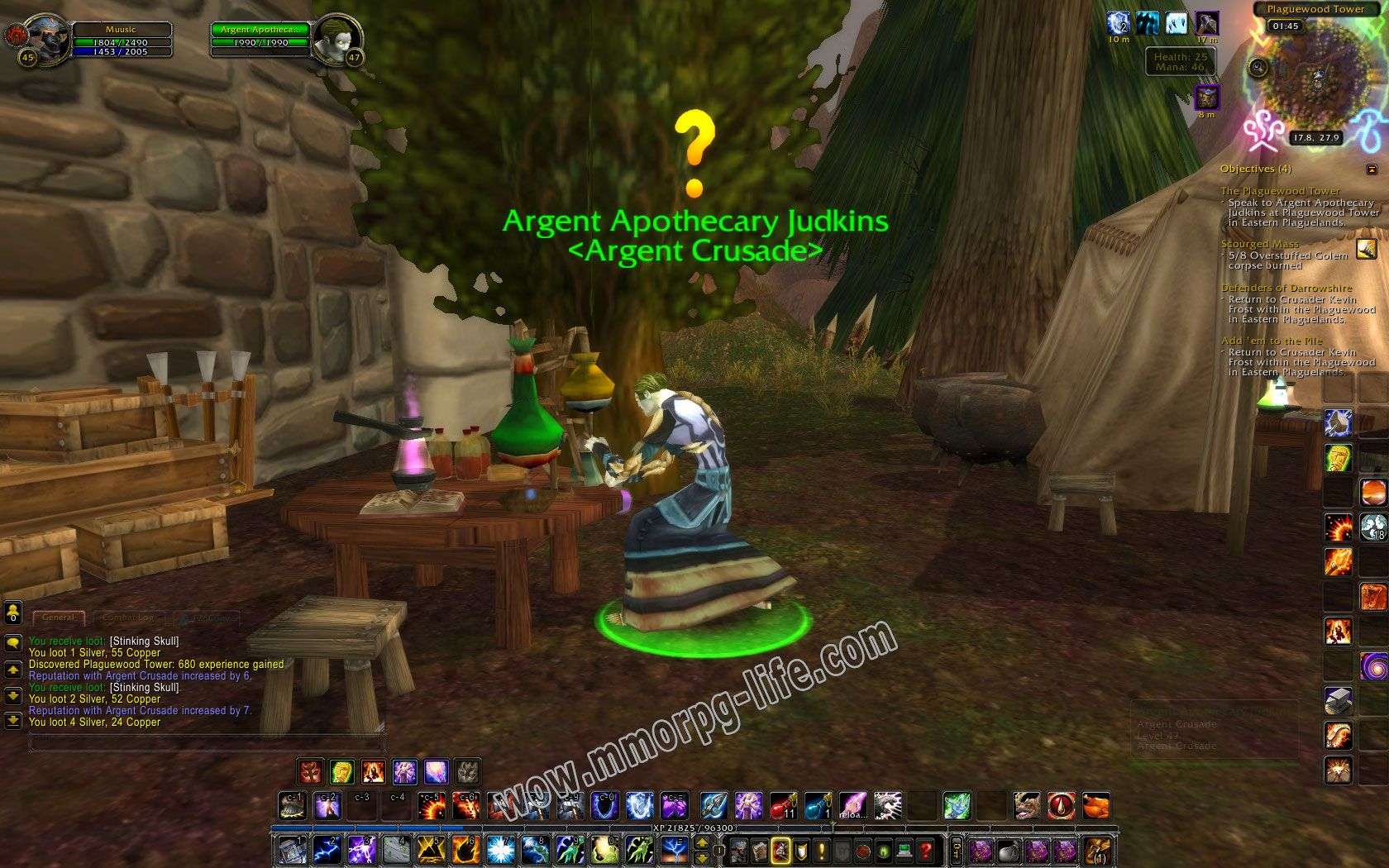 NPC: Argent Apothecary Judkins image 2 middle size