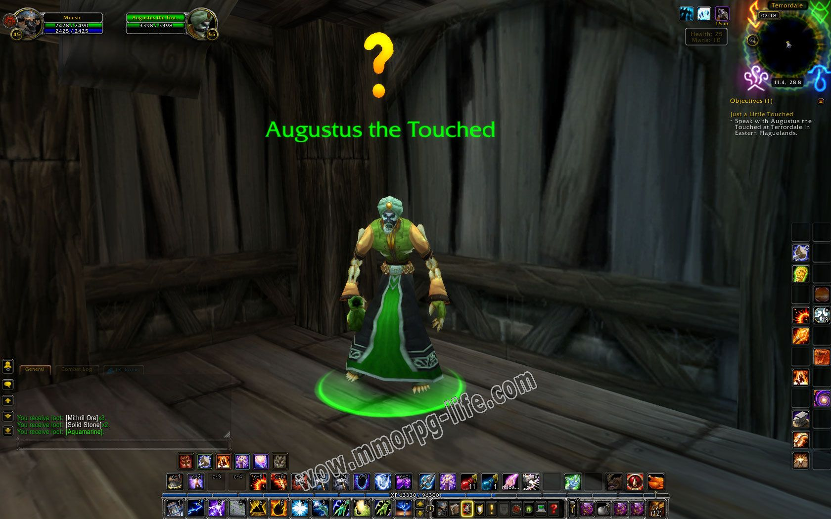 NPC: Augustus the Touched image 2 middle size