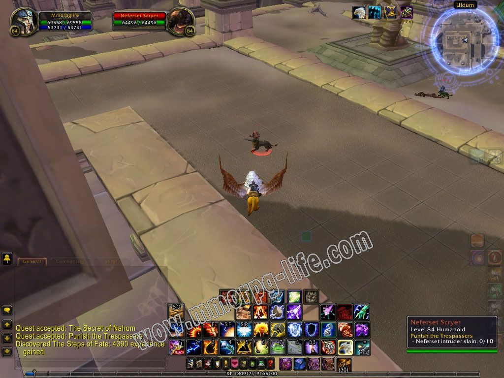 Quest: Punish the Trespassers, objective 1, step 1 image 6083 middle size