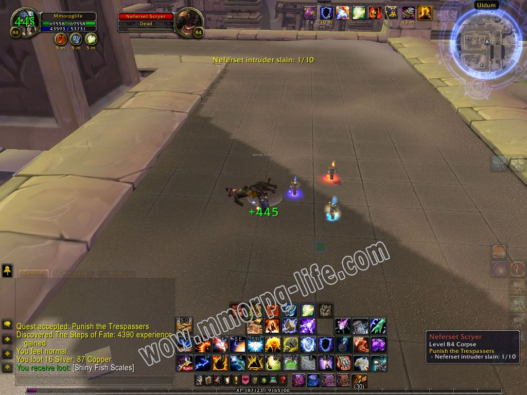 Quest: Punish the Trespassers, objective 1, step 1 image 6084 middle size